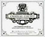 Chateau Coutet 1er Cru Classe (fruchtsüß) 2009