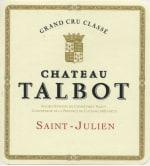 Chateau Talbot 4eme Cru 2018