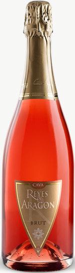 Cava Reyes de Aragon Brut Rosado Flaschengärung