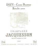 Champagne Brut Dizy Corne Bautray Millesime Grand Cru Flaschengärung