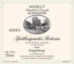 Spätburgunder Engelsberg trocken 2016