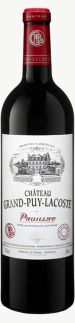 Chateau Grand Puy Lacoste 5eme Cru 2018