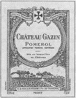 Chateau Gazin 1999