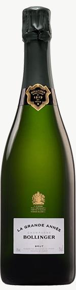 Champagne Grande Annee Flaschengärung