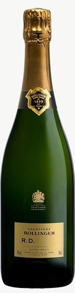Champagne R.D. Flaschengärung