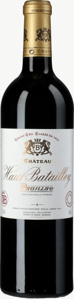 Chateau Haut Batailley 5eme Cru 2015