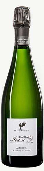 Champagne Anecdote Blanc de Blancs Flaschengärung