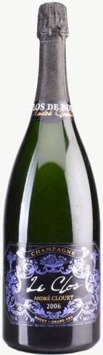 Champagne Le Clos de Bouzy Grand Cru Flaschengärung