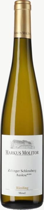 Riesling Zeltinger Schlossberg Auslese *** Goldene Kapsel  (fruchtsüß) 2015
