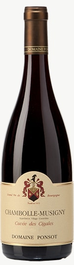 Chambolle-Musigny Cuvée des Cigales