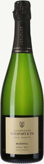 Champagne Extra Brut Mineral Blanc de Blancs Grand Cru Flaschengärung 2010
