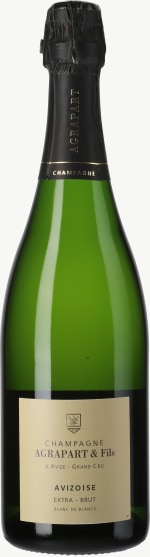 Champagne Extra Brut Avizoise Blanc de Blancs Grand Cru Flaschengärung 2010