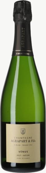 Champagne Brut Nature Venus Blanc de Blancs Grand Cru Flaschengärung 2009