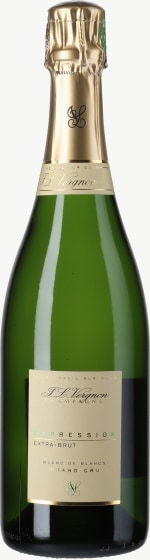 Champagne Expression Extra Brut Blanc de Blancs Grand Cru Flaschengärung 2009