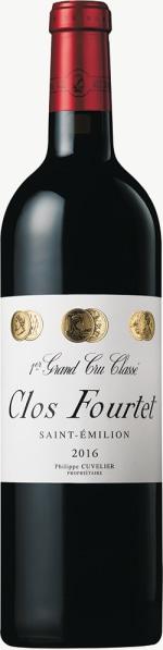 Chateau Clos Fourtet 1er Grand Cru Classe B 2016