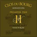 Vouvray Le Clos de Bourg Moelleux 1ere Trie (fruchtsüß)