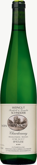 Chardonnay *** Spätlese trocken 2017