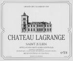 Chateau Lagrange 3eme Cru 2018