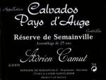 Calvados Camut Reserve de Semainville (25 Jahre)