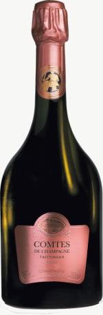 Comtes de Champagne rosé Flaschengärung