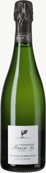 Champagne Les vignes de Mon Village Nature Flaschengärung