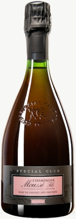 Champagne Special Club Rose de Saignee - Lieu dit Les Bouts de la Ville Extra Brut Flaschengärung