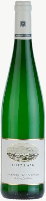Brauneberger Juffer Sonnenuhr Riesling Spätlese (fruchtsüß - Versteigerungswein)