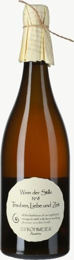 Wein der Stille No. 8 Orange Wein Trauben, Liebe und Zeit