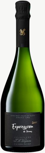 Champagne Expression Extra Brut Blanc de Blancs Grand Cru Flaschengärung 2011