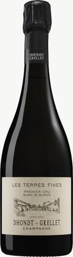 Champagne Premier Cru Blanc de Blancs Extra brut Les Terres Fines (Basis 2016) Flaschengärung