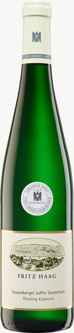 Brauneberger Juffer Sonnenuhr Riesling Kabinett (Versteigerungswein) (fruchtsüß) 2018