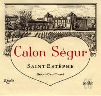 Chateau Calon Segur 3eme Cru