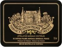 Chateau Palmer 3eme Cru 2010