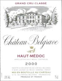Chateau Belgrave 5eme Cru