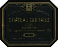 Chateau Guiraud 1er Grand Cru Classe (fruchtsüß) 2015