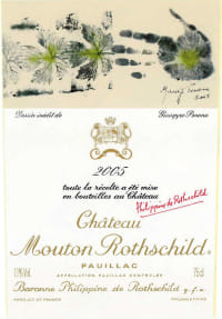 Chateau Mouton Rothschild 1er Cru 2005