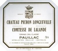 Chateau Pichon Longueville Comtesse de Lalande 2eme Cru 2009