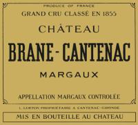 Chateau Brane Cantenac 2eme Cru 2010