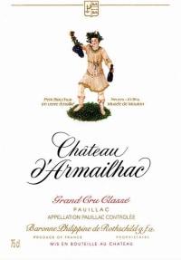 Chateau D'Armailhac 5eme Cru 2010