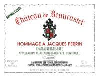 Chateauneuf du Pape Chateau de Beaucastel Hommage a Jacques Perrin