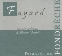 Cotes du Ventoux Fayard 2013