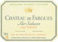 Chateau de Fargues Cru Classe (fruchtsüß) 2007