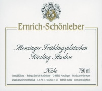 Riesling Auslese Monzinger Frühlingsplätzchen (fruchtsüß) 2013