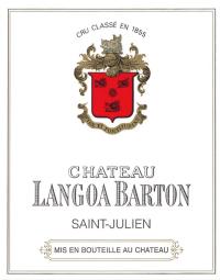 Chateau Langoa Barton 3eme Cru 2011