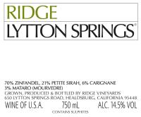 Lytton Springs 2012
