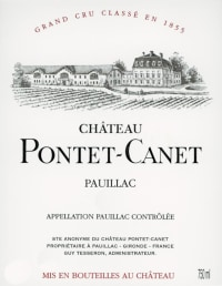 Chateau Pontet Canet 5eme Cru 2013