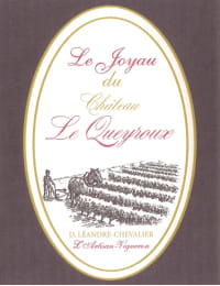 Chateau Le Queyroux Le Joyau 2015