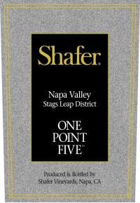Napa Valley Cabernet Sauvignon Stags Leap District One Point Five 2013