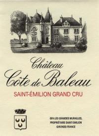 Chateau Cote de Baleau 2011