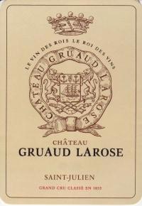 Chateau Gruaud Larose 2eme Cru 2015